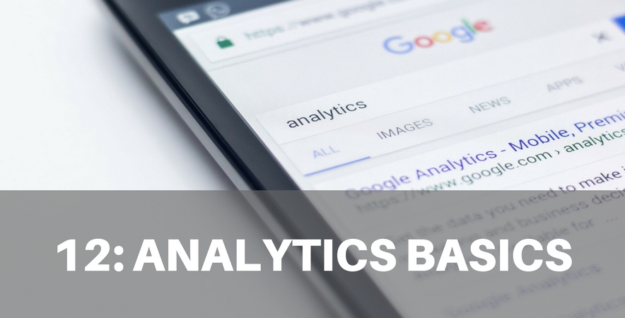 12: Analytics Basics